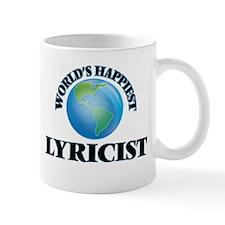 World's Happiest Lyricist Mugs