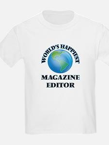 World's Happiest Magazi T-Shirt