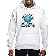 World's Happiest Magazine Journa Hoodie
