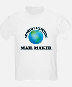 World's Happiest Mail Maker T-Shirt
