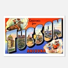 Tucson Arizona Greetings Postcards (Package of 8)