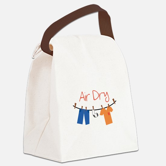 laundry_Air Dry Canvas Lunch Bag
