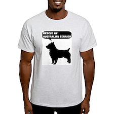 Rescue a Australian Terrier T-Shirt
