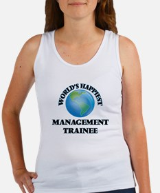 World's Happiest Management Trainee Tank Top