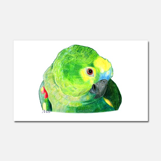 Blue-Fronted Amazon Car Magnet 20 x 12