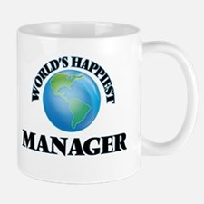 World's Happiest Manager Mugs