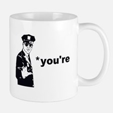 You're Your Grammar Police Mugs