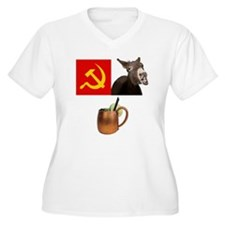 Moscow Mule Cocktail Plus Size T-Shirt