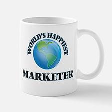 World's Happiest Marketer Mugs