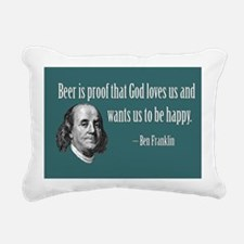 PROOF THAT GOT GOD LOVES Rectangular Canvas Pillow
