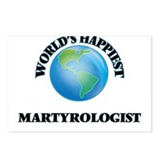 World's Happiest Martyrol Postcards (Package of 8)