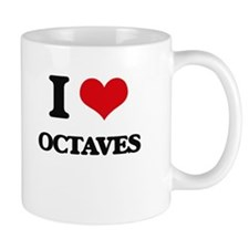 I Love Octaves Mugs