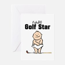 Future Golf Star Baby Cards (Pk of 10)