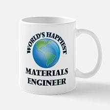 World's Happiest Materials Engineer Mugs