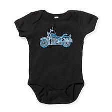 First Blue Bike Baby Bodysuit