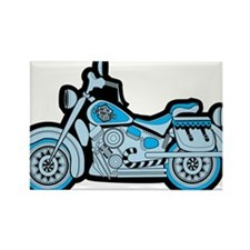 First Blue Bike Magnets