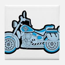 First Blue Bike Tile Coaster
