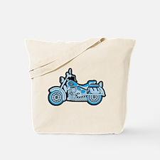 First Blue Bike Tote Bag