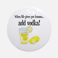 LIFE GIVES YOU LEMONS Ornament (Round)