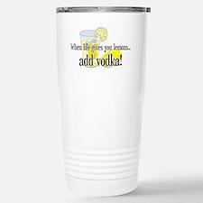 LIFE GIVES YOU LEMONS Travel Mug