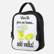 LIFE GIVES YOU LEMONS Neoprene Lunch Bag