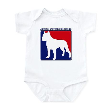 Pro American Staffordshire Te Infant Bodysuit