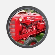 McCormick International Orchard Tractor Wall Clock