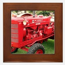 McCormick International Orchard Tracto Framed Tile