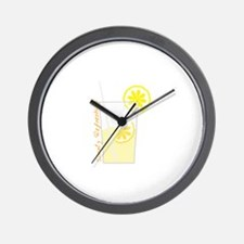 lemonaid_Simply Refreshing Wall Clock