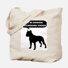 Rescue a American Staffordshi Tote Bag
