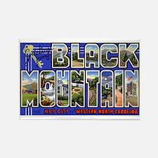 Black Mountain North Carolina Rectangle Magnet