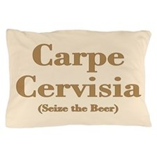 CARPE CERVISIA Pillow Case