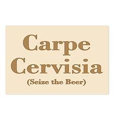 CARPE CERVISIA Postcards (Package of 8)