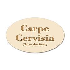 CARPE CERVISIA Wall Decal