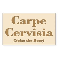 CARPE CERVISIA Decal