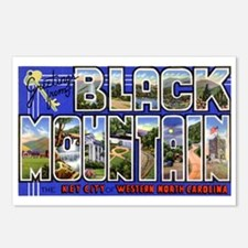 Black Mountain North Carolina Postcards (Package o