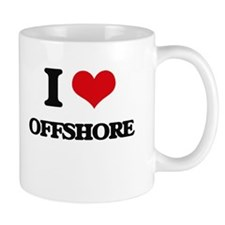 I Love Offshore Mugs
