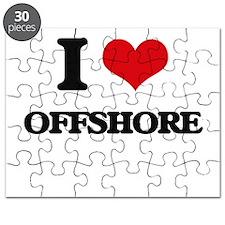 I Love Offshore Puzzle