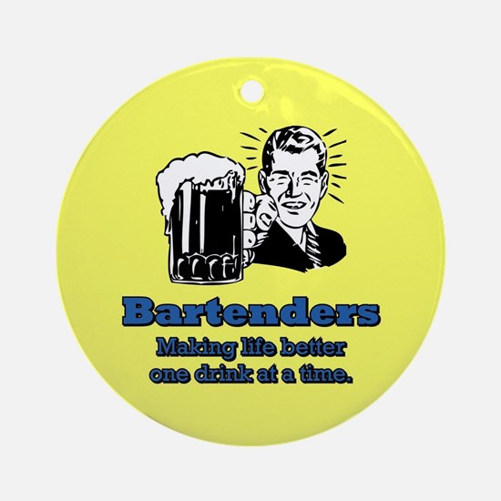 BARTENDERS 2 Ornament (Round)