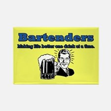 BARTENDERS 2 Rectangle Magnet