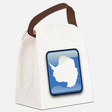 Flag of Antarctica Canvas Lunch Bag