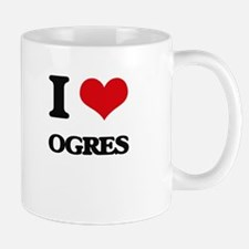 I Love Ogres Mugs