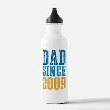 Dad Since 2009 Water Bottle