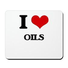 I Love Oils Mousepad