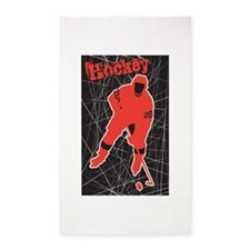 Hockey Area Rug