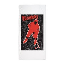Hockey Beach Towel