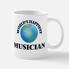 World's Happiest Musician Mugs