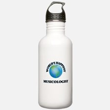 World's Happiest Music Water Bottle