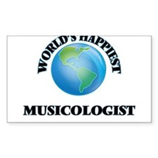World's Happiest Musicologist Decal