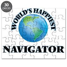 World's Happiest Navigator Puzzle